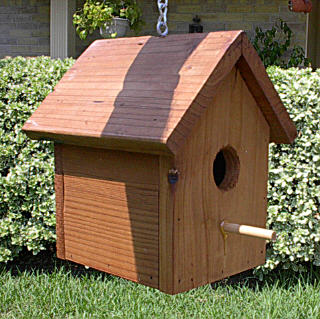 Build a birdhouse with your child northeast portland for Simple diy birdhouse plans